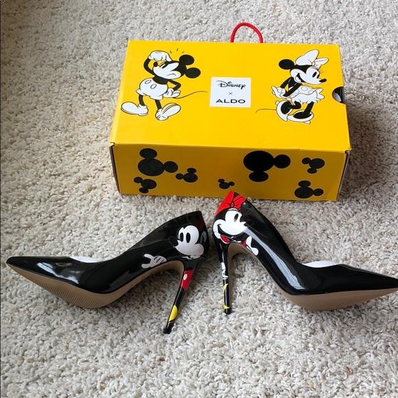 Disney X Aldo Stessy Mickey Heels